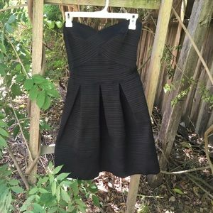 Express Bandage Little Black Dress